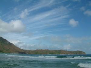 大浪灣的風光